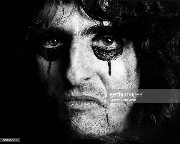 Portrait of Alice Cooper Amsterdam Netherlands on 18th November 1972