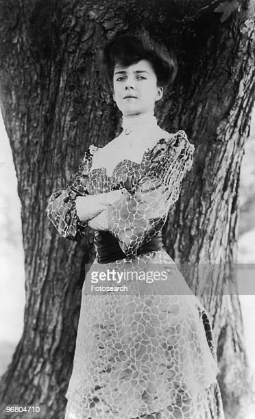 Portrait of Alice Roosevelt Longworth circa 1900s