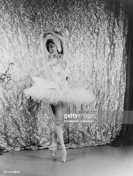 """Portrait of Alicia Markova as """"The Dying Swan"""""""