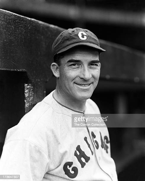 A portrait of Aloysius H Simmons of the Chicago White Sox in 1933