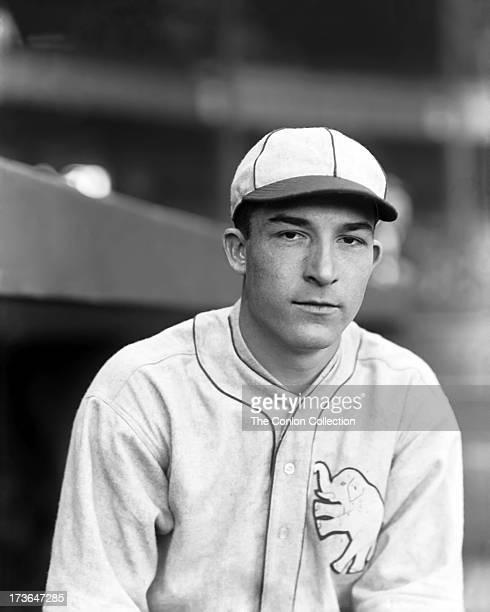 A portrait of Aloysius H Simmons of the Philadelphia Athletics in 1924