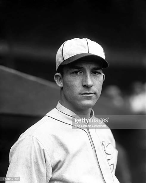 A portrait of Aloysius H Simmons of the Philadelphia Athletics in 1925