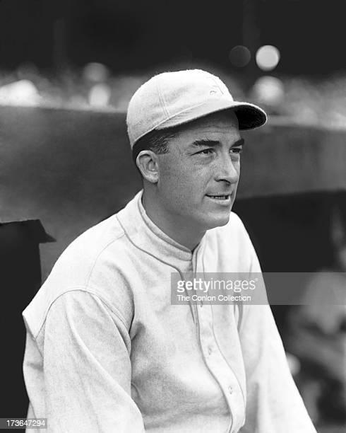 A portrait of Aloysius H Simmons of the Philadelphia Athletics in 1929