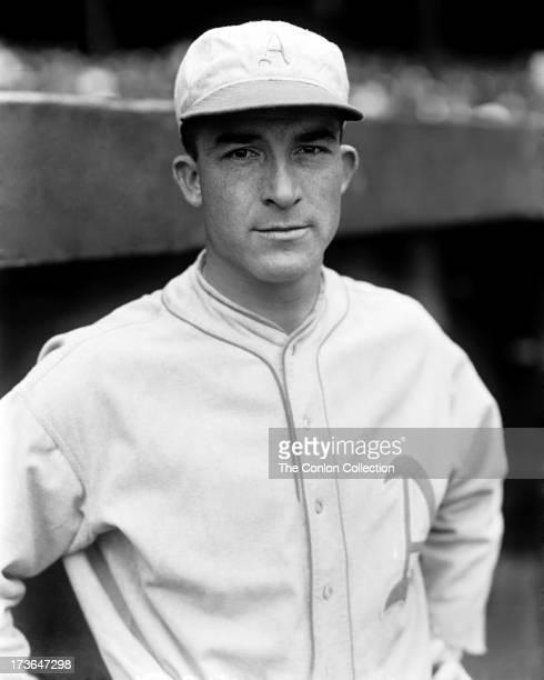 A portrait of Aloysius H Simmons of the Philadelphia Athletics in 1930