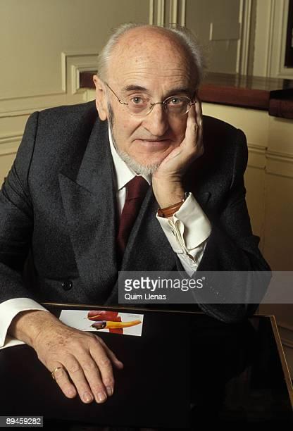 Portrait of Alvaro Pombo writer and Academy Member