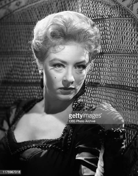 Portrait of Amanda Blake. She portrays Miss Kitty Russell in the CBS television western series, Gunsmoke. October 19, 1959.