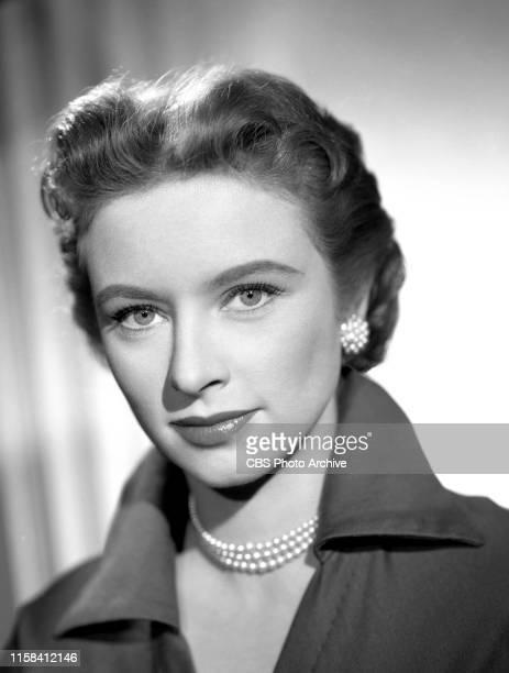 Portrait of Amanda Blake . She stars in the CBS television western, Gunsmoke. April 22, 1955.