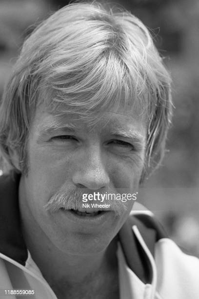 LOS ANGELES JANUARY 1978 Portrait of American action hero movie star and martial artist Chuck Norris in Palos Verdes Southern California USA circa...