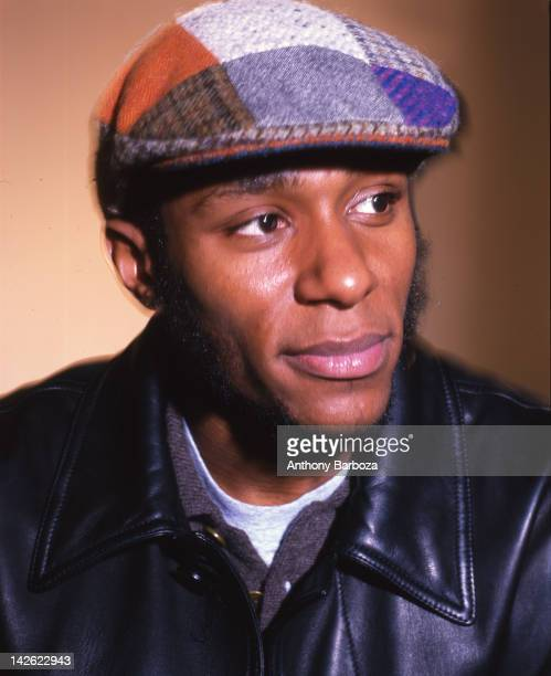 Portrait of American actor and hip hop musician Mos Def New York New York 2000