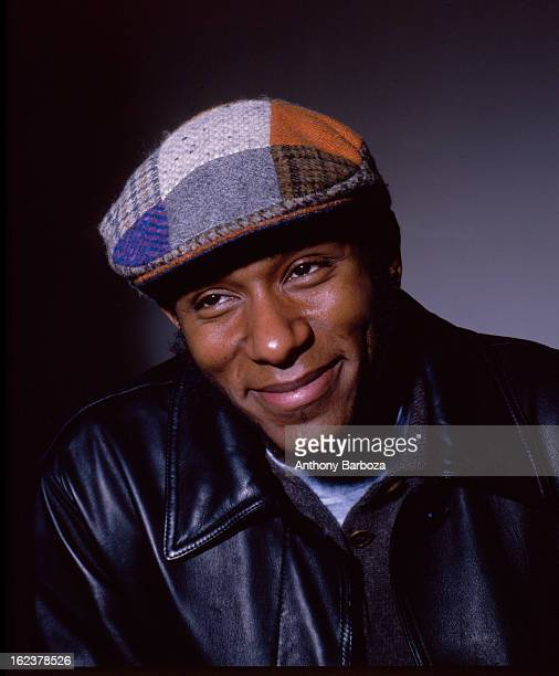Portrait of American actor and hiphop musician Mos Def New York New York 2000