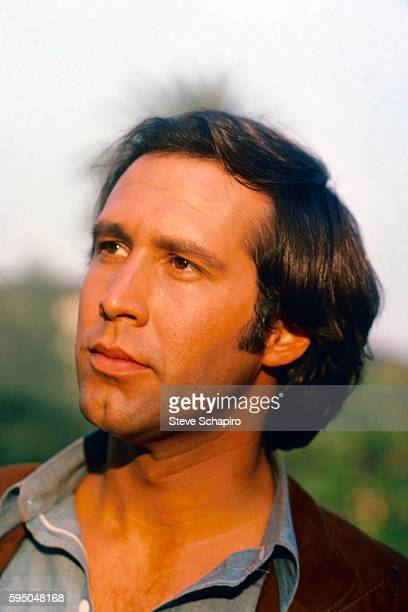 Portrait of American actor Chevy Chase Los Angeles California 1974