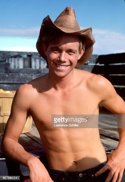 Portrait of American actor Christopher Atkins during production of the madefortelevision movie 'The Child Bride of Short Creek' 1981