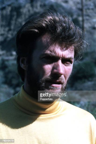 1969 A portrait of American actor Clint Eastwood
