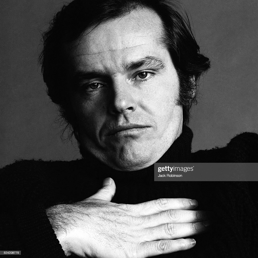 Portrait Of American Actor Jack Nicholson, New York, New