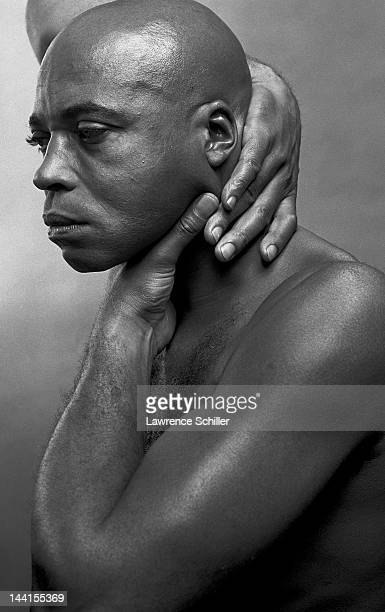 Portrait of American actor James Earl Jones during the filming of 'The Great White Hope' Barcelona Spain 1968