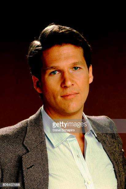 Portrait of American actor Jeff Bridges Los Angeles California 1970s