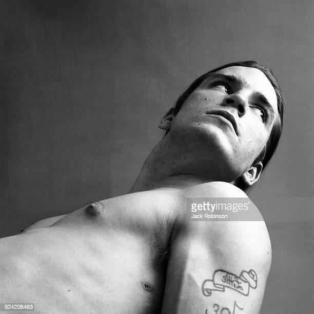 Portrait of American actor Joe Dallesandro New York New York 1970