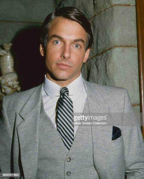 Portrait of American actor Mark Harmon for the televisions show 'Flamingo Road' Burbank California February 9 1982