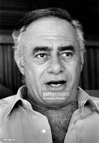 Portrait of American actor Martin Balsam Rome 1970s