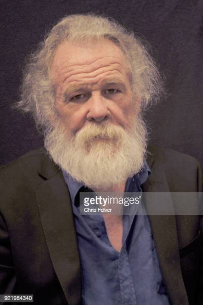 Portrait of American actor Nick Nolte San Francisco California January 29 2018