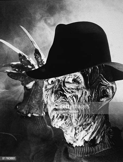 Portrait of American actor Robert Englund as 'Freddy Krueger' of the 'A Nightmare on Elm Street' series of movies circa 1989