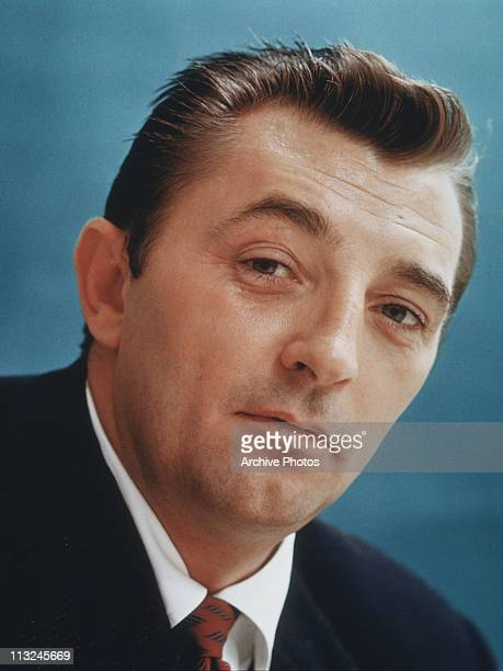 Portrait of American actor Robert Mitchum in the 1940's