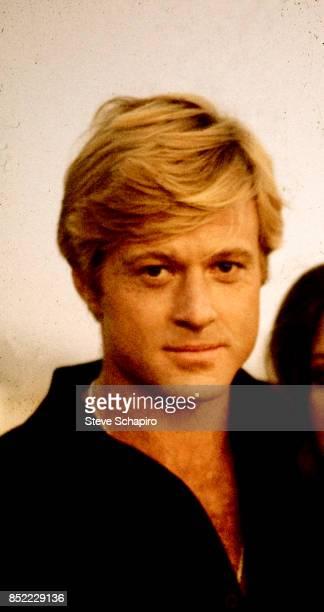 Portrait of American actor Robert Redford New York 1968