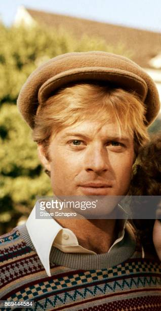 Portrait of American actor Robert Redford on the set of the film 'The Way We Were' Los Angeles California 1972