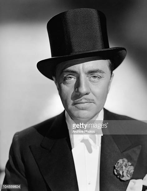 Portrait of American actor William Powell from the film 'I love you again' circa 1940