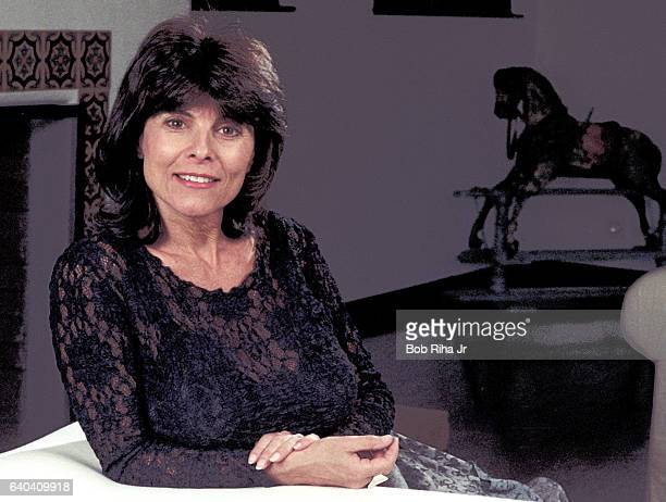 Portrait of American actress Adrienne Barbeau as she poses at her home Los Angeles California November 8 1996
