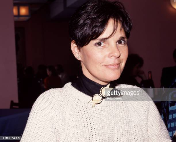 Portrait of American actress Ali MacGraw at an unspecified event New York New York 1988