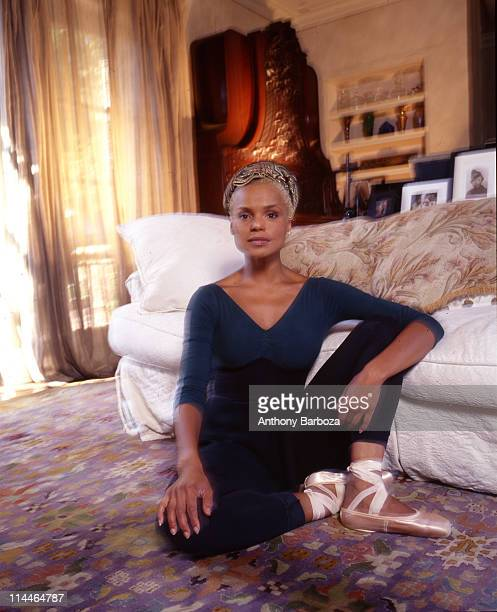 Portrait of American actress and dancer Victoria Rowell Los Angeles California 1998