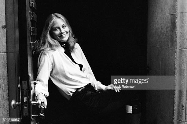 Portrait of American actress and model Cybill Shepherd New York New York October 1971