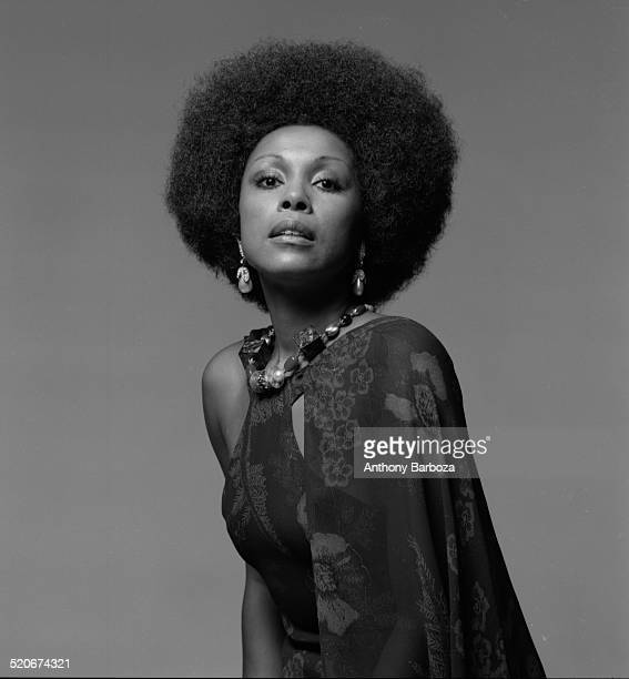 Portrait of American actress and singer Diahann Carroll New York 1971