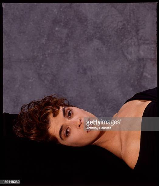 Portrait of American actress Annabella Sciorra early 1990s