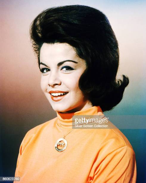 Portrait of American actress Annette Funicello early to mid 1960s