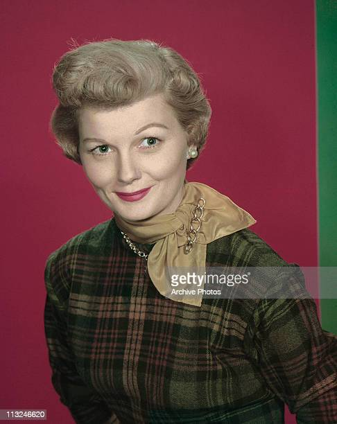 Portrait of American actress Barbara Billingsley in the late 1950's