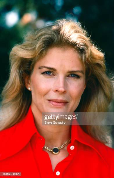 Portrait of American actress Candice Bergen Los Angeles California 1977