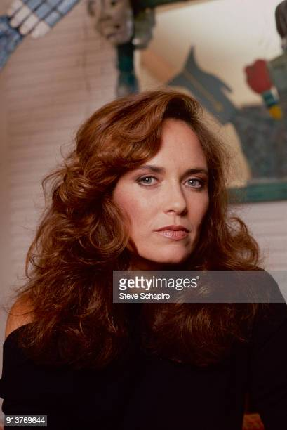 Portrait of American actress Catherine Bach Los Angeles California 1982