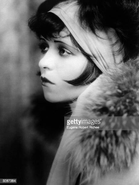 Portrait of American actress Clara Bow the 'It' girl