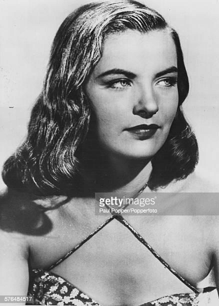 Portrait of American actress Ella Raines posed on June 10th 1946