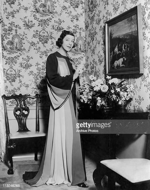 Portrait of American actress Fanny Brice circa 1930