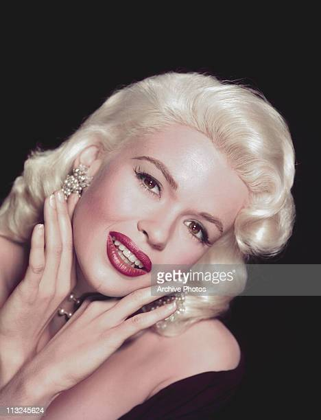 Portrait of American actress Jayne Mansfield in the 1950's.