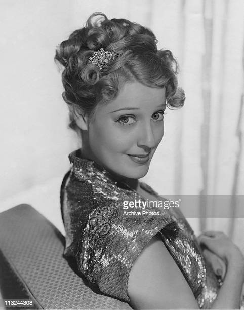 Portrait of American actress Jeanette MacDonald for the 1938 film 'Sweethearts'