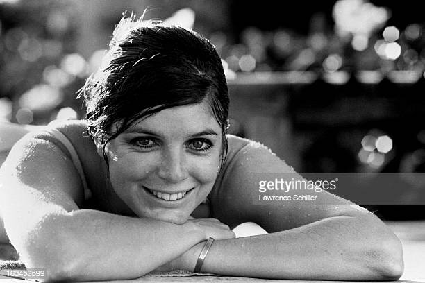 Portrait of American actress Katherine Ross during the filming of 'Butch Cassidy and the Sundance Kid' Durango Mexico 1968