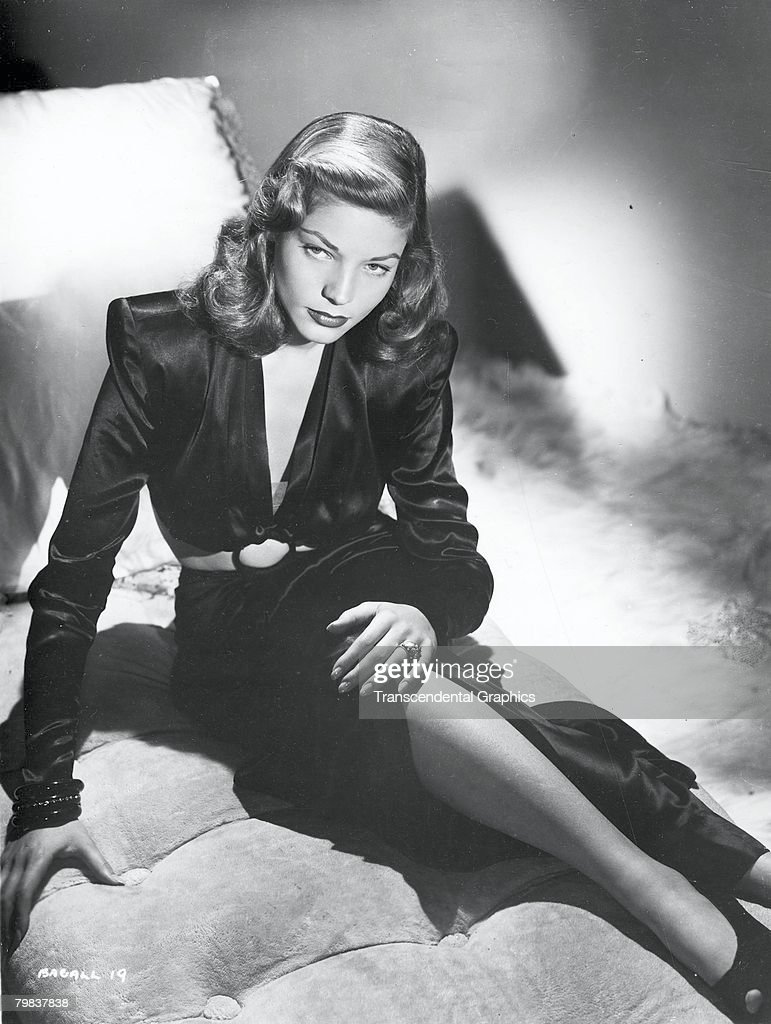 Portrait Of Lauren Bacall : News Photo