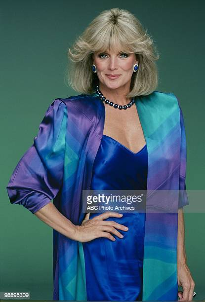 Portrait of American actress Linda Evans from teh television show 'Dynasty' Los Angeles, California, December 28, 1984.