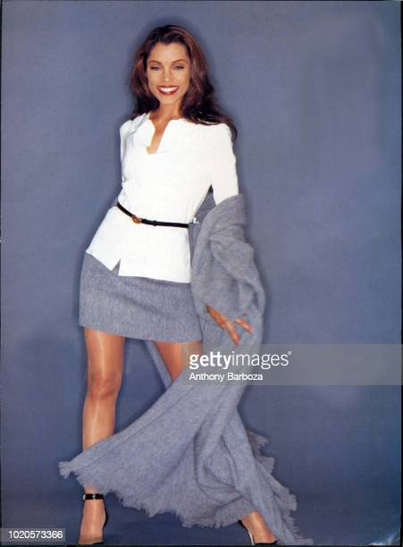 Portrait of American actress Michael Michele New York 2000