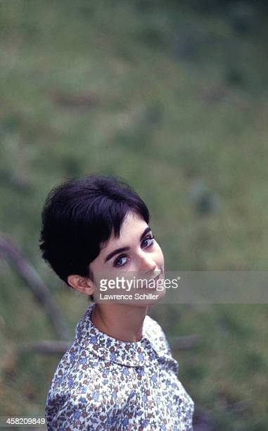 Portrait of American actress Millie Perkins Los Angeles California 1959