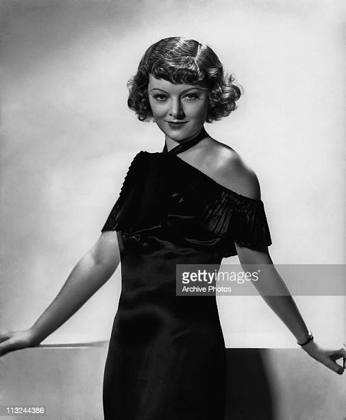 Portrait of American actress Myrna Loy in 1933